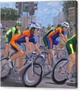 The Peloton Canvas Print