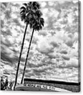 The People Are The City Palm Springs City Hall Canvas Print