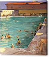 The Peoples Pool, Palm Beach, 1927 Canvas Print