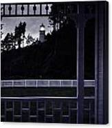 The Perfect Frame For The Heceta Lighthouse Canvas Print