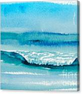 The Perfect Wave Canvas Print