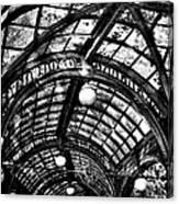 The Pergola Ceiling Canvas Print
