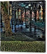The Pergola In Pioneer Square IIi Canvas Print