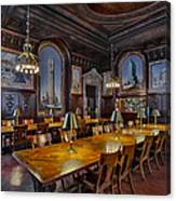 The Periodicals Room At The New York Public Library Canvas Print