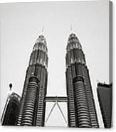 The Petronas Towers Malaysia Canvas Print
