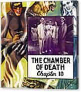 The Phantom, Us Poster, Tom Tyler Left Canvas Print
