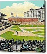 The Phillies Baker Bowl In Philadelphia Pa In 1914 Canvas Print
