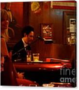 The Piano Bar Canvas Print