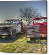 The Pick Up Canvas Print