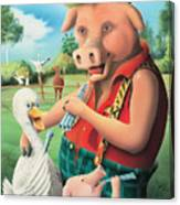 The Pig & Whistle Canvas Print