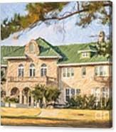 The Pink Palace Museum Memphis Tn Usa Canvas Print