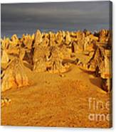 The Pinnacles 4 Canvas Print