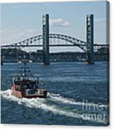 The Piscataqua River Canvas Print