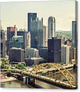 The Pittsburgh Skyline Canvas Print