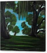 The Plantation Canvas Print