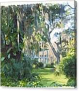 The Plantation Canvas Print