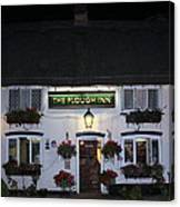 The Plough Inn Canvas Print