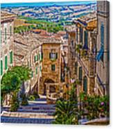 The Polenta Well Canvas Print