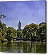 The Pond - Central Park Canvas Print