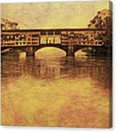 The Ponte Vecchio In Florence Italy Canvas Print