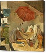 The Poor Poet II Canvas Print