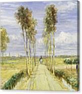 The Poplar Avenue Canvas Print