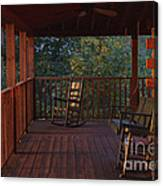 The Porch Beckons Canvas Print