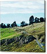 The Port Hills Canvas Print