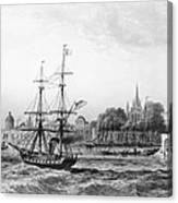 The Port Of New Orleans Canvas Print