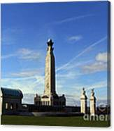 The Portsmouth Naval Memorial Southsea Canvas Print