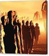The Post Apocalyptic Gods Canvas Print