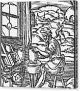 The Potter, 1574 Canvas Print