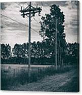 The Power Lines  Canvas Print
