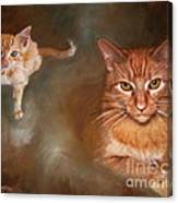 The Prince And The Pauper Canvas Print