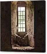The Priory Window Canvas Print