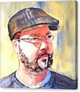 The Professor Canvas Print