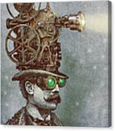The Projectionist Canvas Print