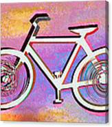 The Psychedelic Bicycle Canvas Print
