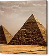 The Pyramids Of Giza Canvas Print