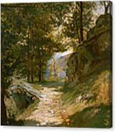 The Pyrenees Canvas Print
