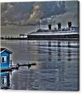 The Queen Mary Canvas Print