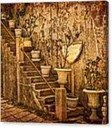 The Queen's Garden Canvas Print