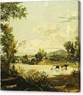 The Quiet Valley Canvas Print