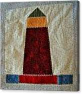The Quilt Work Of Chambers Island Lighthouse  Canvas Print