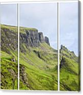 The Quiraing Triptych Canvas Print