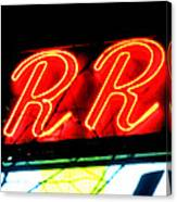 The R And R Canvas Print