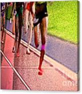 The Race By Jrr Canvas Print