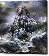 The Rage Of Poseidon IIi Canvas Print