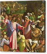 The Raising Of Lazarus, C.1517-19 Oil On Canvas Transferred From Wood Canvas Print