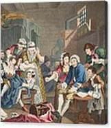 The Rake In Prison, Plate Vii, From A Canvas Print
